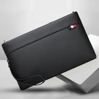 3色タグ クラッチバッグ メンズ レディース セカンドバッグ  高級レザー