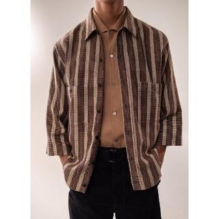 ルメール(LEMAIRE)のLEMAIRE 19SS ミリタリーシャツジャケット 46 【きむら様専用】(シャツ)