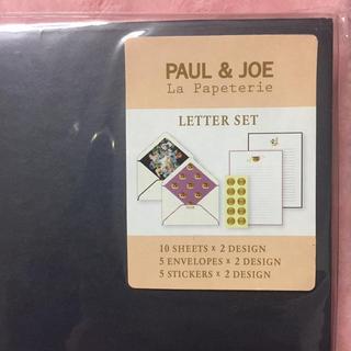 ポールアンドジョー(PAUL & JOE)のポール&ジョー💜ヌネット レターセット(ノート/メモ帳/ふせん)