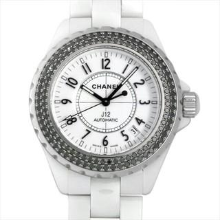 J12 オートマティック ブラックダイヤベゼル メンズ 腕時計