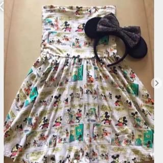 ディズニー(Disney)のディズニーワンピース スカート(ひざ丈スカート)