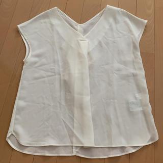 エージーバイアクアガール(AG by aquagirl)の新品 アクアガール シフォンブラウス(シャツ/ブラウス(半袖/袖なし))