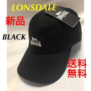 LONSDALE - ❣️イギリスブランドLONSDALEツイル CAP.BLACK
