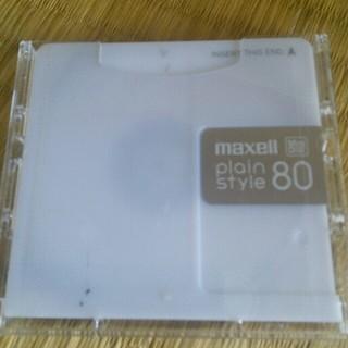 マクセル(maxell)の【4枚】maxell MD 80分 録音用ミニディスク plain style (その他)