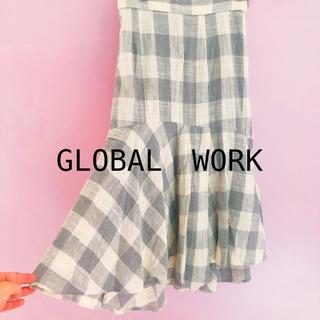 グローバルワーク(GLOBAL WORK)のグローバルワーク マーメイド ロングスカート (ロングスカート)