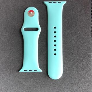 Apple Watch アップルウォッチ用ベルトマリングリーン SM 42 44(その他)