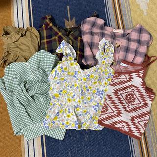 ダブルクローゼット(w closet)のw closet ビスチェ ブラウスまとめ売り(シャツ/ブラウス(長袖/七分))