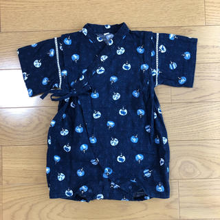 西松屋 - 西松屋 甚平 カバーオール ロンパース 80