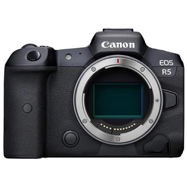 Canon(キヤノン)のCanon EOS R5 (brand new) スマホ/家電/カメラのカメラ(ミラーレス一眼)の商品写真
