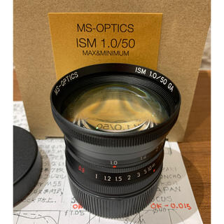 ライカ(LEICA)の宮崎光学 MS-OPTICS  ISM 50mm F1.0 Black(M)(レンズ(単焦点))