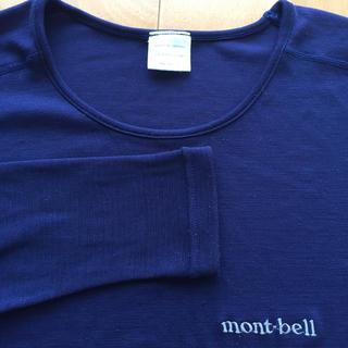 mont bell - mont-bell ジオライン ネイビー シャツ レディース M モンベル