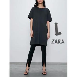 ZARA - 【新品・未使用】ZARA ワンピース ボタン付き L