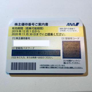 ANA(全日本空輸) - ANA 株主優待 1枚 通知対応
