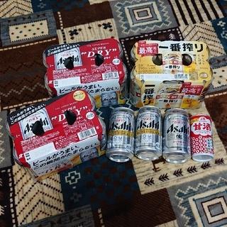 アサヒ - アサヒスーパードライ&キリンビール一番搾り