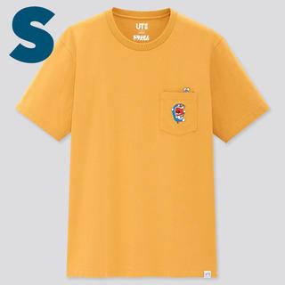 ユニクロ(UNIQLO)のS UNIQLO x ドラえもん ポケット付き Tシャツ (Tシャツ/カットソー(半袖/袖なし))
