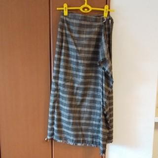 アウィーエフ(AuieF)の&g'aime巻きスカート(ロングスカート)