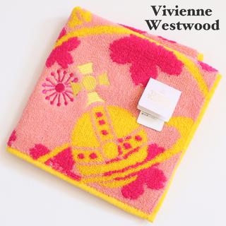 Vivienne Westwood - ⭐新品タグ付き ヴィヴィアンウエストウッド タオルハンカチ【オーブ柄】⭐