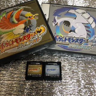 ニンテンドーDS(ニンテンドーDS)のポケモンハートゴールド ソウルシルバー DS 3DS(携帯用ゲームソフト)
