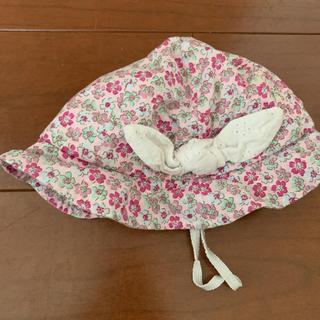 petit main - プティマイン  花柄 帽子