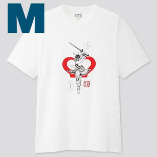 ユニクロ(UNIQLO)のM UNIQLO x ヤングジャンプ キングダム Tシャツ(Tシャツ/カットソー(半袖/袖なし))