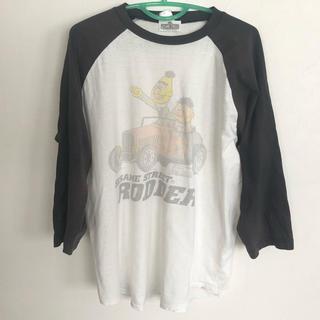 バックドロップ(THE BACKDROP)のバックドロップ ヴィンテージ 7分袖トップス(Tシャツ/カットソー(七分/長袖))