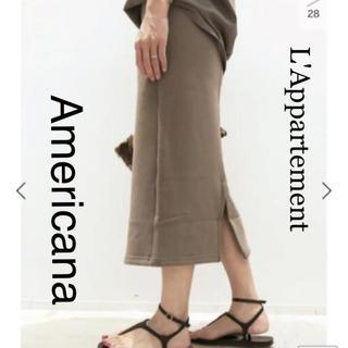 アパルトモンドゥーズィエムクラス(L'Appartement DEUXIEME CLASSE)のアパルトモン アメリカーナ スカート 別注(ロングスカート)