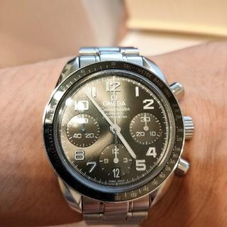 オメガ(OMEGA)のオメガ【OMEGA】スピードマスターデイト(腕時計)