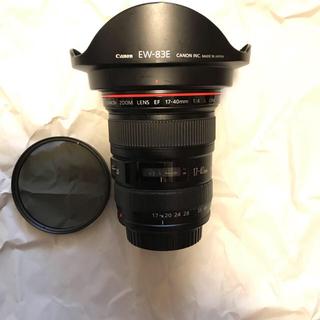 Canon - EF 17-40 f4 l usm 美品特別セット!!