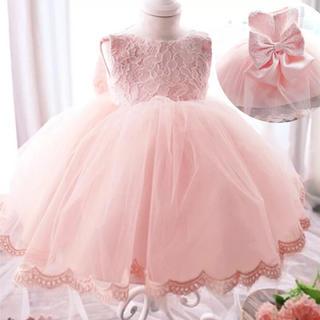 キッズ可愛いフォーマルドレス 100cm(ドレス/フォーマル)