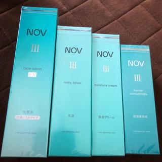 ノブ(NOV)のNOV  4点セット(化粧水/ローション)
