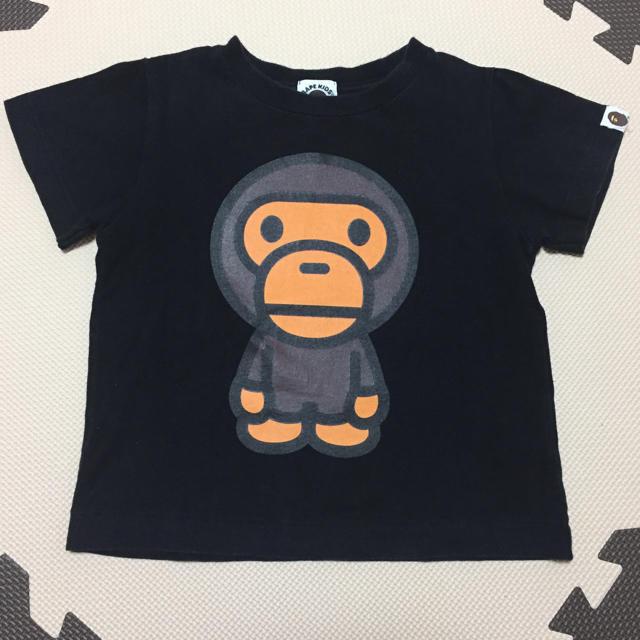 A BATHING APE(アベイシングエイプ)のエイプキッズTシャツ100㎝ キッズ/ベビー/マタニティのキッズ服男の子用(90cm~)(Tシャツ/カットソー)の商品写真