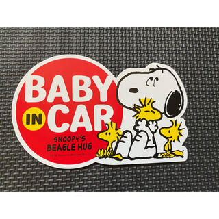 SNOOPY - スヌーピー BABY IN CAR