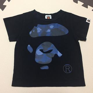 アベイシングエイプ(A BATHING APE)のエイプ キッズ Tシャツ 90㎝(Tシャツ/カットソー)