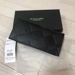 ブラックレーベルクレストブリッジ(BLACK LABEL CRESTBRIDGE)の新品 ブラック レーベル クレストブリッジ 長財布(長財布)