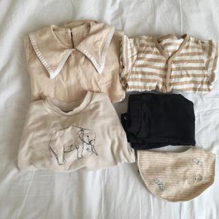ミナペルホネン(mina perhonen)のベビーの洋服 おまとめ(ロンパース)