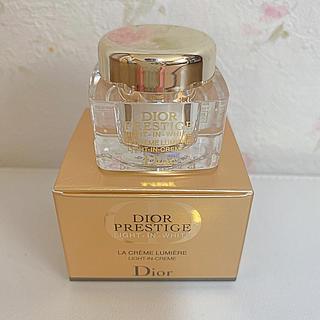 クリスチャンディオール(Christian Dior)のディオール プレステージ ホワイト ラ クレーム ルミエール 5ml新品(フェイスクリーム)