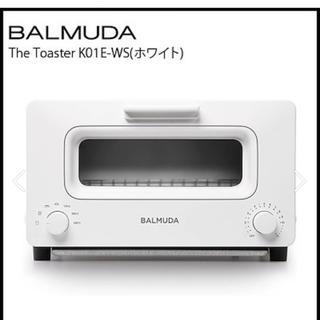 バルミューダ(BALMUDA)のぴのさま バルミューダ オーブントースター ホワイト(調理機器)