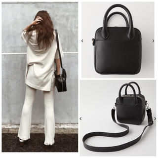 moussy - MOUSSY SQUARE MINI SHOULDER バッグ