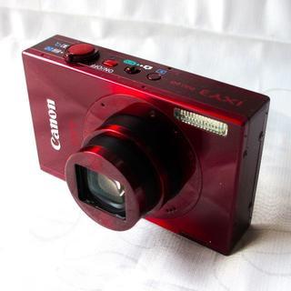 Canon デジカメ IXY 3 レッド 光学12倍ズーム 付属品完備
