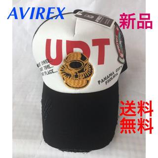AVIREX - ❣️AVIREXツイルメッシュ CAP‼️ダメージ、最後1点です。