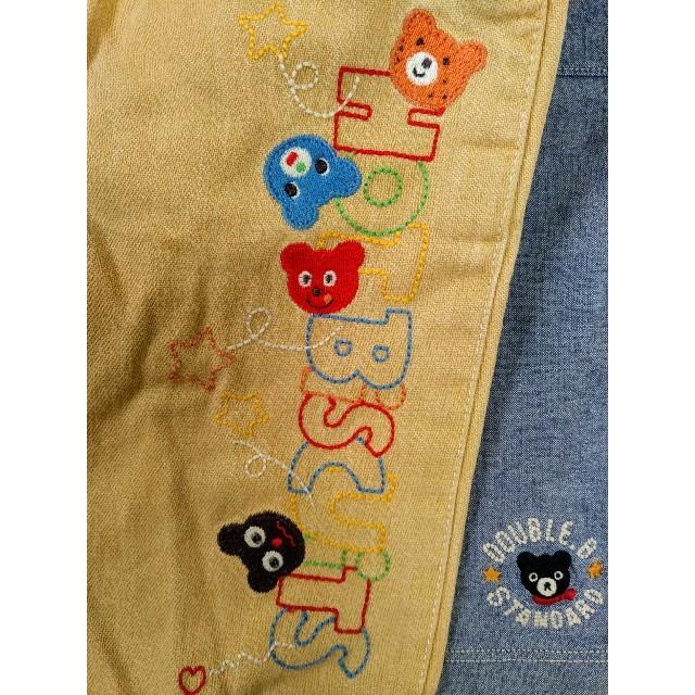 mikihouse(ミキハウス)の日本製 ミキハウス ハーフパンツ等 2枚セット キッズ/ベビー/マタニティのキッズ服男の子用(90cm~)(パンツ/スパッツ)の商品写真