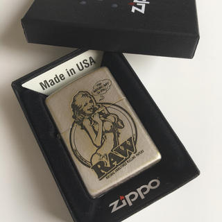 ZIPPO - 新品 RAW 正規品 zippo  ライター ジッポ 手巻きタバコ 喫煙具
