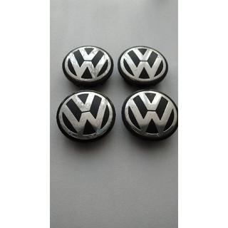 フォルクスワーゲン(Volkswagen)の中古品、VW純正品アルミホイールセンターキャップ(車外アクセサリ)