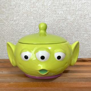 Disney - リトルグリーンメン 小物入れ (陶器)