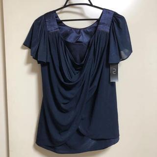 アールユー(RU)の新品タグ付  RU アールユー  カットソー  ブラウス (シャツ/ブラウス(半袖/袖なし))