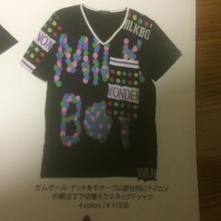 ミルクボーイ(MILKBOY)のMILKBOY ガムボール ドットTシャツ ミルクボーイ  milk boy(Tシャツ/カットソー(半袖/袖なし))