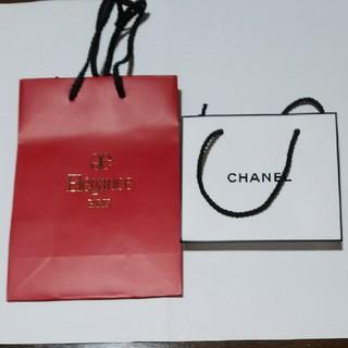 シャネル(CHANEL)の化粧品 ショップバッグ(ショップ袋)