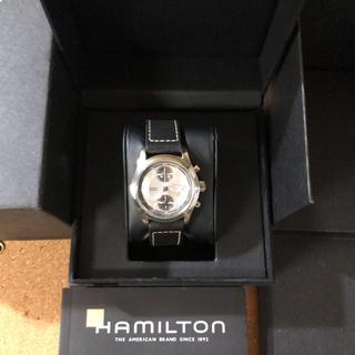 Hamilton - 【美品】ハミルトン カーキフィールドオートクロノ パンダ H71466553
