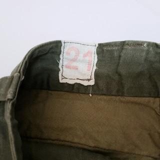 マルタンマルジェラ(Maison Martin Margiela)のM-47 カーゴパンツ フランス軍 21(ワークパンツ/カーゴパンツ)