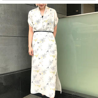 mame - 2020SS未使用タグ付Mame Kurogouchiフラワースカート完売幻
